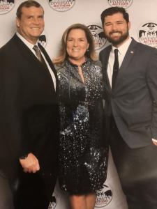 Caroline Black Sikorske and Family at VTC Gala