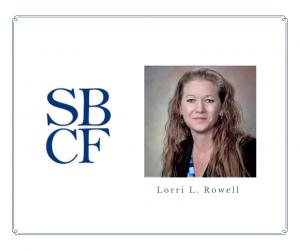 Lorri L. Rowell Work Anniversary