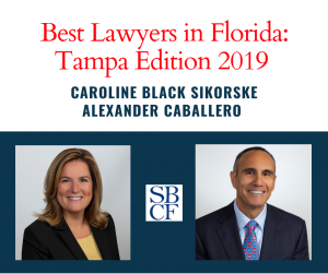 Best Lawyers Tampa 2019