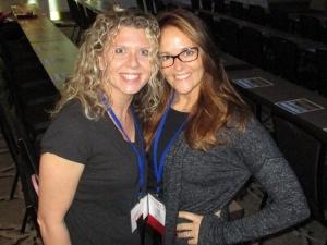 Jennifer Ficarrotta and Elisha Roy