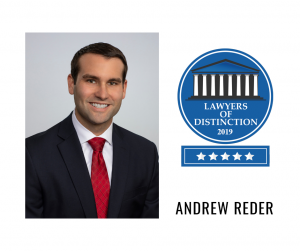 Andrew Reder Lawyers of Distinction