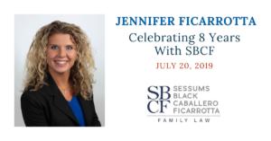 Jennifer Ficarrotta Work Anniversary