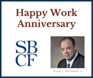 Frank Steinbeck Jr. Work Anniversary