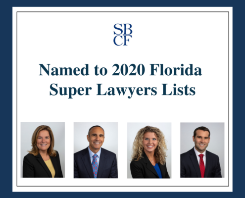2020 Florida Super Lawyers Lists