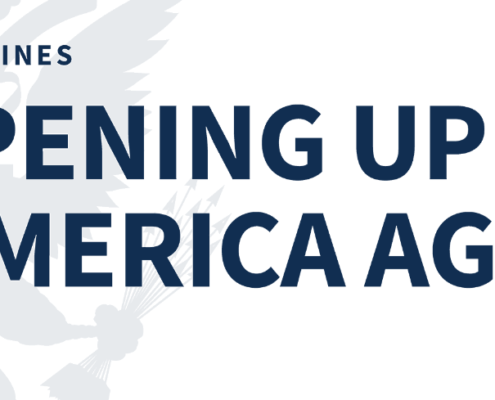 Opening America Again