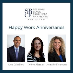 SBCF Work Anniversaries