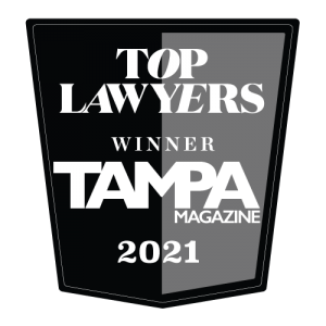 Tampa Magazines' Top Lawyer List 2021
